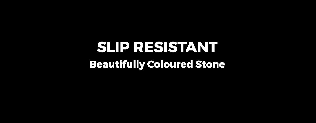 sandstone slip resistant overlay
